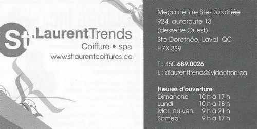 Coiffure saint laurent trends laval