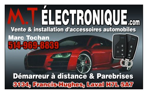M.T Electronique à Laval