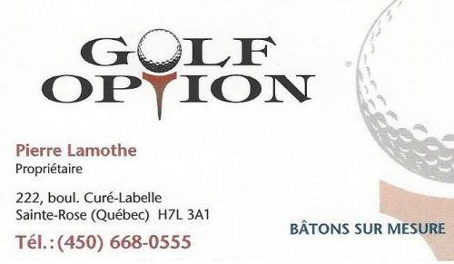 Golf Option à Laval